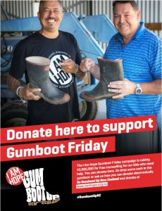 Gumboot Friday - 5th April